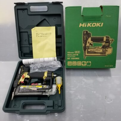 HiKOKI NT55HM2 高圧仕上げ釘打ち機をお買取いたしました!【ハンズクラフト下関店】