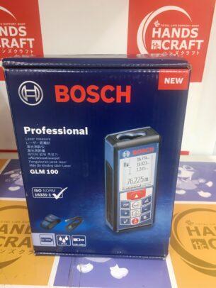 BOSCH ボッシュ GLM100 レーザー距離計 未使用品 お買取りさせて頂きました!【ハンズクラフト福岡インター店】
