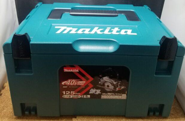 マキタ HS005GRDXB 40V充電式マルノコ 未使用品 お買取しました!【ハンズクラフト下関店】