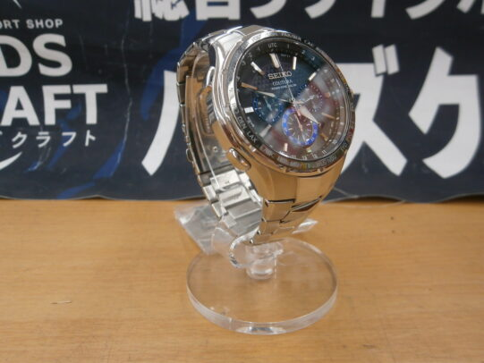 【ハンズクラフト八幡西店】セイコー コーチュラ 腕時計 8B92-0AL0 本体+コマ お買取りしました!