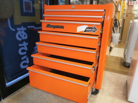 【ハンズクラフト八幡西店】スナップオン ロールキャブ 工具箱 KRA2007 出張買取致しました!